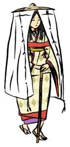 平安時代 女性 旅装束