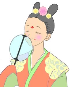 奈良時代 女性 服装